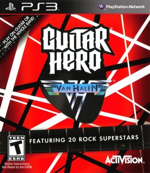 Cover for Guitar Hero: Van Halen.