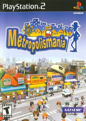 Cover for Metropolismania.