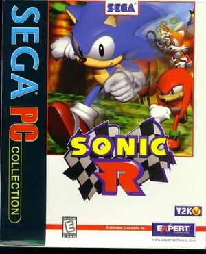 Cover for Sonic R.