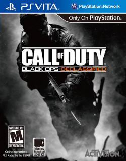 Cover for Call of Duty: Black Ops: Declassified.