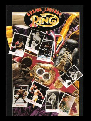 Cover for Boxing Legends of the Ring.