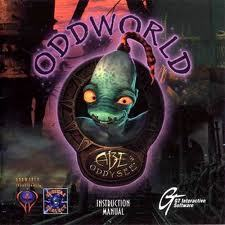 Cover for Oddworld: Abe's Oddysee.