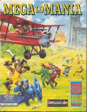 Cover for Mega Lo Mania.
