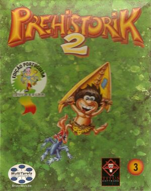 Cover for Prehistorik 2.