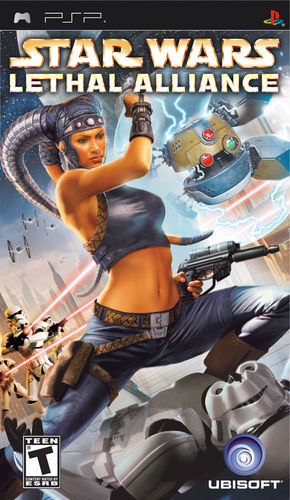 Cover for Star Wars: Lethal Alliance.