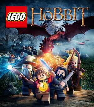 Cover for Lego The Hobbit.
