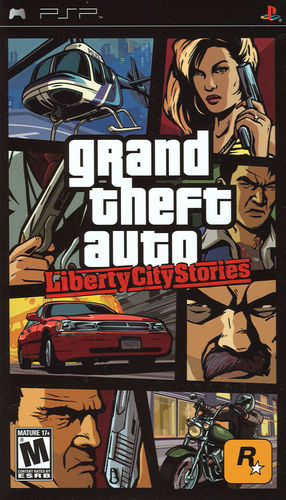 Cover for Grand Theft Auto: Liberty City Stories.