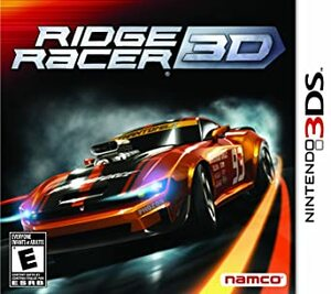 Cover for Ridge Racer 3D.