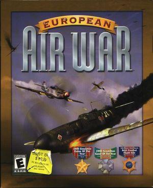 Cover for European Air War.