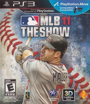 Cover for MLB 11: The Show.