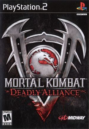 Cover for Mortal Kombat: Deadly Alliance.
