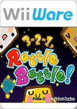 Cover for 3-2-1, Rattle Battle!.