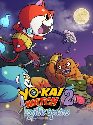 Cover for Yo-kai Watch 2: Psychic Specters.