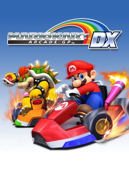 Cover for Mario Kart Arcade GP DX.