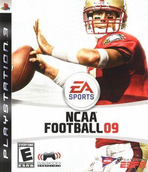 Cover for NCAA Football 09.