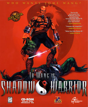 Cover for Shadow Warrior.