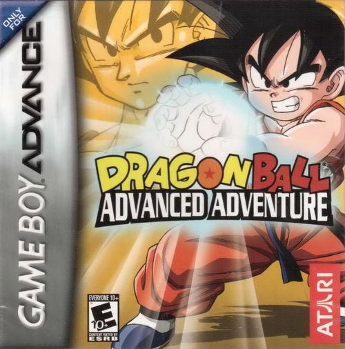 Cover for Dragon Ball: Advanced Adventure.