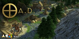 Cover for 0 A.D..