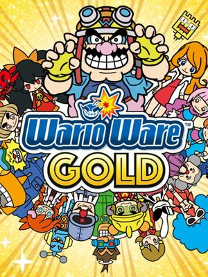 Cover for WarioWare Gold.
