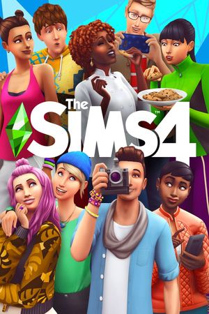Cover for The Sims 4.