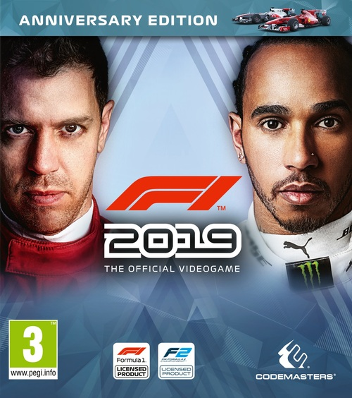 Cover for F1 2019.
