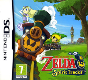 Cover for The Legend of Zelda: Spirit Tracks.