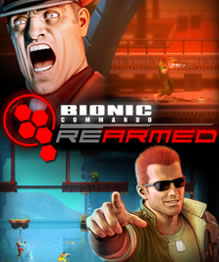 Cover for Bionic Commando Rearmed.