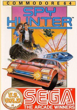 Cover for Spy Hunter.