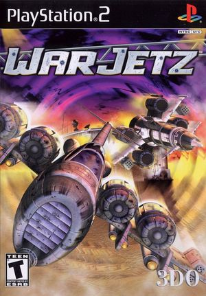Cover for WarJetz.