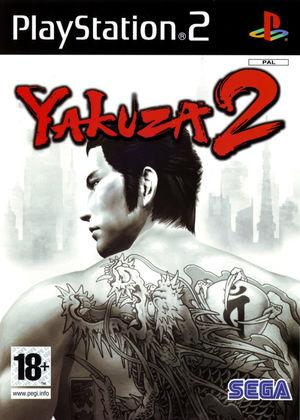 Cover for Yakuza 2.