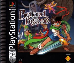 Cover for Beyond the Beyond.