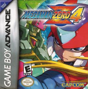 Cover for Mega Man Zero 4.