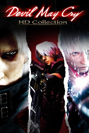 Cover for Devil May Cry: HD Collection.