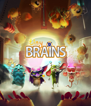 Cover for Tiny Brains.