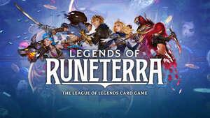Cover for Legends of Runeterra.
