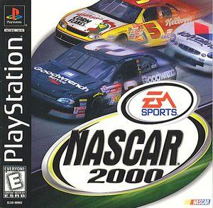 Cover for NASCAR 2000.