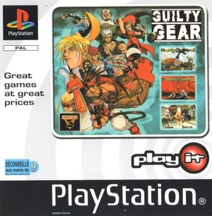 Cover for Guilty Gear.
