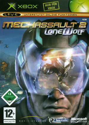 Cover for MechAssault 2: Lone Wolf.