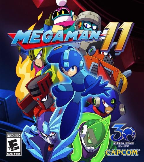 Cover for Mega Man 11.
