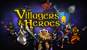 Cover for Villagers and Heroes.