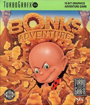 Cover for Bonk's Adventure.