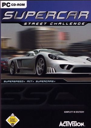 Cover for Supercar Street Challenge.