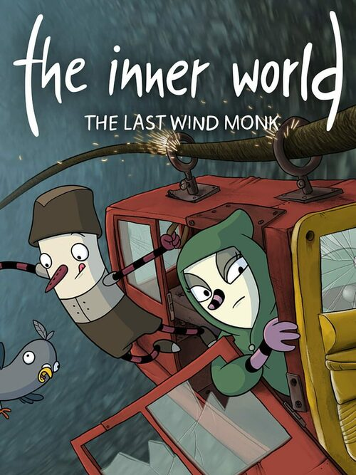 Cover for The Inner World: The Last Wind Monk.