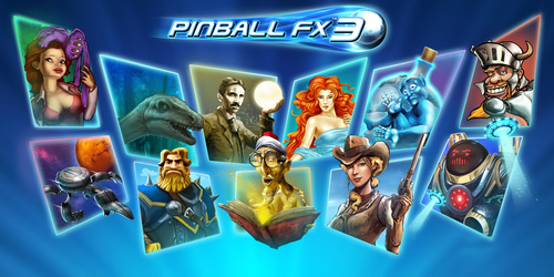 Cover for Pinball FX 3.
