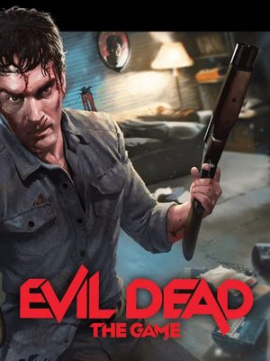 Cover for Evil Dead: The Game.