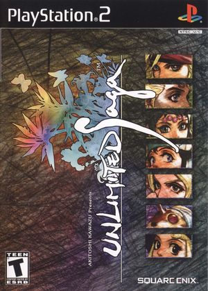 Cover for Unlimited Saga.