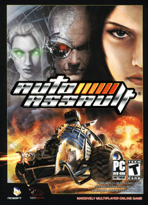 Cover for Auto Assault.
