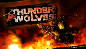Cover for Thunder Wolves.