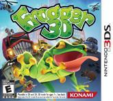 Cover for Frogger 3D.