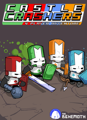 Cover for Castle Crashers.